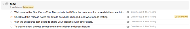 Alternative layout for Omnifocus